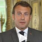 Deconfinement : Emmanuel Macron salue « le retour des jours heureux »