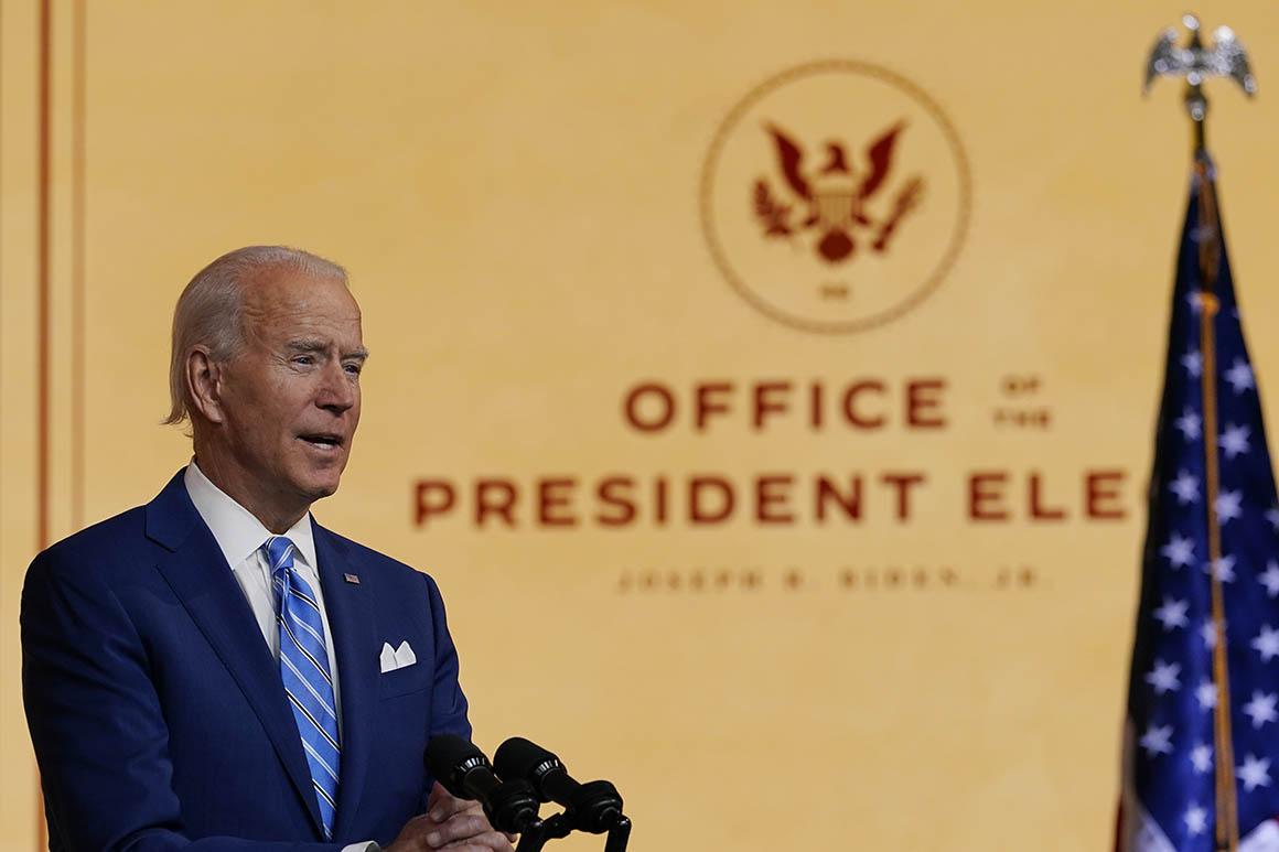 Président élu Joe Biden