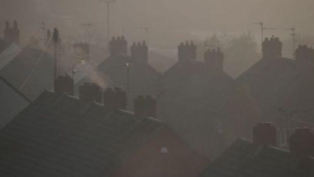 Les scientifiques ont découvert que la pollution de l'air en hiver est associée à davantage d'hospitalisations à Dublin en raison d'accidents vasculaires cérébraux.  Photographie de dossier: Getty