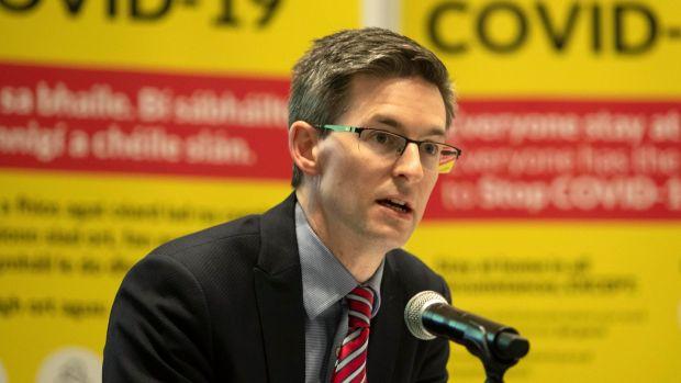 Le médecin-chef adjoint, le Dr Ronan Glynn, a déclaré au webinaire que la santé publique avait continué à donner la priorité à l'ouverture d'écoles pendant la pandémie, lorsque cela était possible.  Photographie: Colin Keegan / Collins Dublin