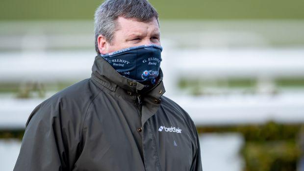 Gordon Elliott a plus de 200 chevaux à l'entraînement aux écuries Cullentra.  Photographie: Morgan Treacy / Inpho